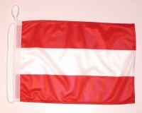 Bootsflagge Österreich 30 x 45 cm