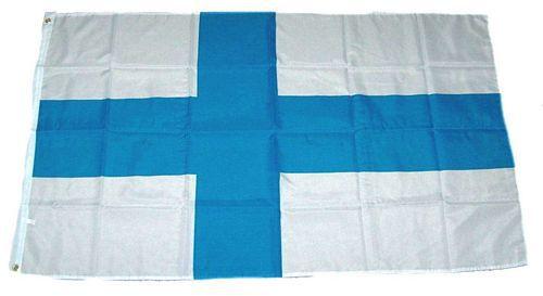 Flagge / Fahne Finnland Hissflagge 90 x 150 cm