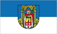 Fahne / Flagge Könnern 90 x 150 cm