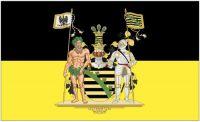 Fahne / Flagge Provinz Sachsen Wappen 90 x 150 cm