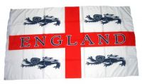 Fahne / Flagge England 4 Löwen 90 x 150 cm