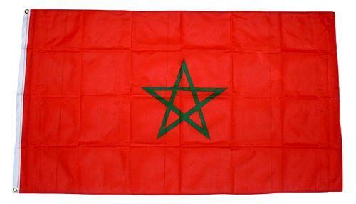 Fahne / Flagge Marokko 150 x 250 cm