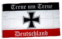 Fahne / Flagge Deutschland Treue um Treue 90 x 150 cm