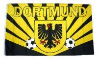 Fahne / Flagge Dortmund Wappen 90 x 150 cm