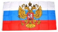 Flagge / Fahne Russland Adler Hissflagge 90 x 150 cm