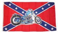 Fahne / Flagge Südstaaten - Motorrad 90 x 150 cm