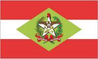 Fahne / Flagge Brasilien - Santa Caterina 90 x 150 cm