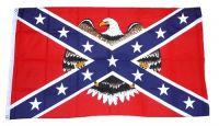 Fahne / Flagge Südstaaten - Eagle 90 x 150 cm