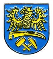Pin Oberschlesien Wappen Anstecker NEU Anstecknadel