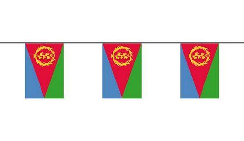 Flaggenkette Eritrea 6 m