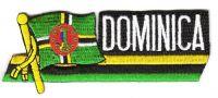 Fahnen Sidekick Aufnäher Dominika