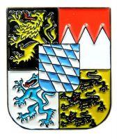 Pin Freistaat Bayern Wappen Anstecker NEU Anstecknadel