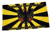 Fahne / Flagge Dortmunder durch die Gnade Gottes 90 x 150 cm