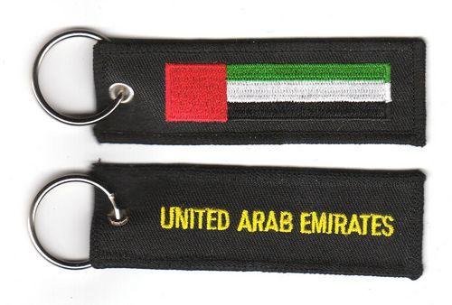 Fahnen Schlüsselanhänger Vereinigte Arabische Emirate