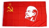 Fahne / Flagge UDSSR Lenin Sowjetunion 90 x 150 cm