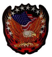 Aufnäher Patch USA Adler Sterne