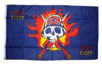 Fahne / Flagge Südstaaten - Hard Rider 90 x 150 cm