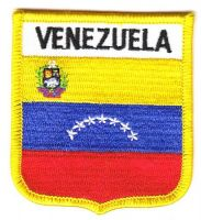 Wappen Aufnäher Fahne Venezuela