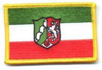 Fahnen Aufnäher Nordrhein Westfalen