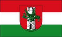 Fahne / Flagge Österreich - Klagenfurt 90 x 150 cm