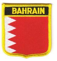 Wappen Aufnäher Fahne Bahrain