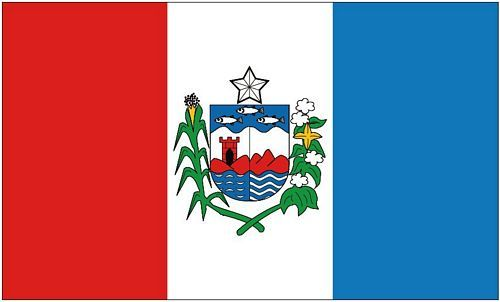 Fahne / Flagge Brasilien - Alagoas 90 x 150 cm