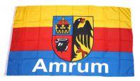 Flagge / Fahne Insel Amrum Hissflagge 90 x 150 cm