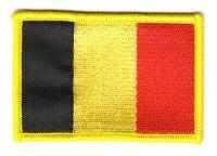 Fahnen Aufnäher Belgien