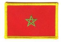 Fahnen Aufnäher Marokko
