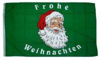 Fahne / Flagge Frohe Weihnachten 90 x 150 cm