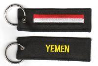 Fahnen Schlüsselanhänger Jemen