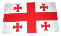 Fahne / Flagge Georgien 30 x 45 cm