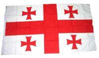 Flagge / Fahne Georgien Hissflagge 90 x 150 cm
