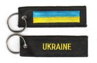 Fahnen Schlüsselanhänger Ukraine