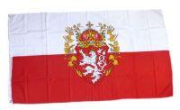 Fahne / Flagge Königreich Böhmen 90 x 150 cm