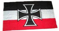 Fahne / Flagge Gösch Eisernes Kreuz 30 x 45 cm