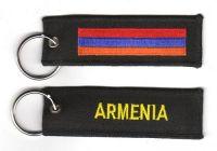 Fahnen Schlüsselanhänger Armenien