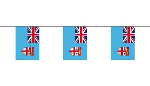 Flaggenkette Fidschi Inseln 6 m