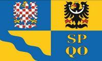 Fahne / Flagge Tschechien - Olmütz 90 x 150 cm