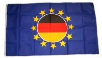 Fahne / Flagge Europa Deutschland Kreis 90 x 150 cm