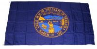 Fahne / Flagge USA - Nebraska 90 x 150 cm