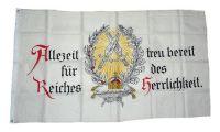 Fahne / Flagge Deutsches Reich Allezeit Treue bereit NEU 90 x 150 cm