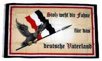 Fahne / Flagge Deutschland Stolz Vaterland 90 x 150 cm