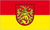 Fahne / Flagge Forst Lausitz 90 x 150 cm