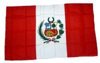 Fahne / Flagge Peru 30 x 45 cm