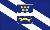 Fahne / Flagge Kroatien - Brod Posavina 90 x 150 cm
