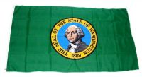 Fahne / Flagge USA - Washington 90 x 150 cm