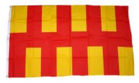 Fahne / Flagge England - Northumberland 90 x 150 cm