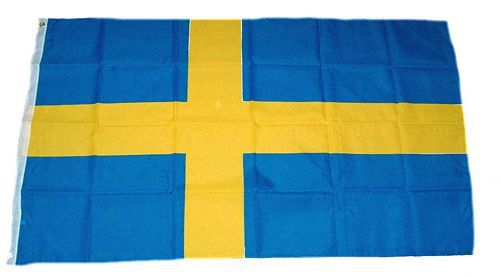 Flagge / Fahne Schweden Hissflagge 90 x 150 cm