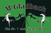 Fahnen Aufkleber Sticker Mönchengladbach Nr. 1